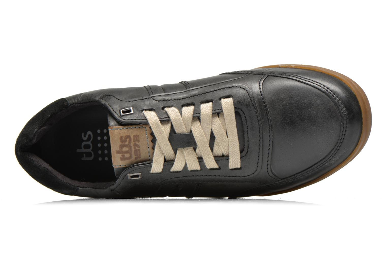 Sneaker TBS Damonn schwarz ansicht von links
