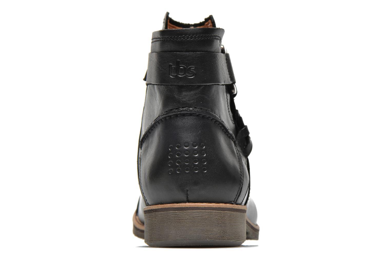 Bottines et boots TBS Melina Noir vue droite