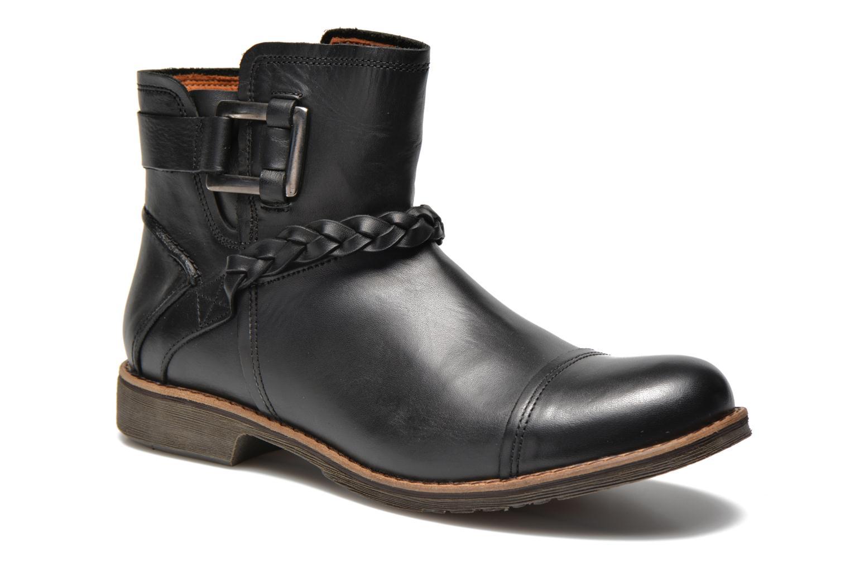 Bottines et boots TBS Melina Noir vue détail/paire