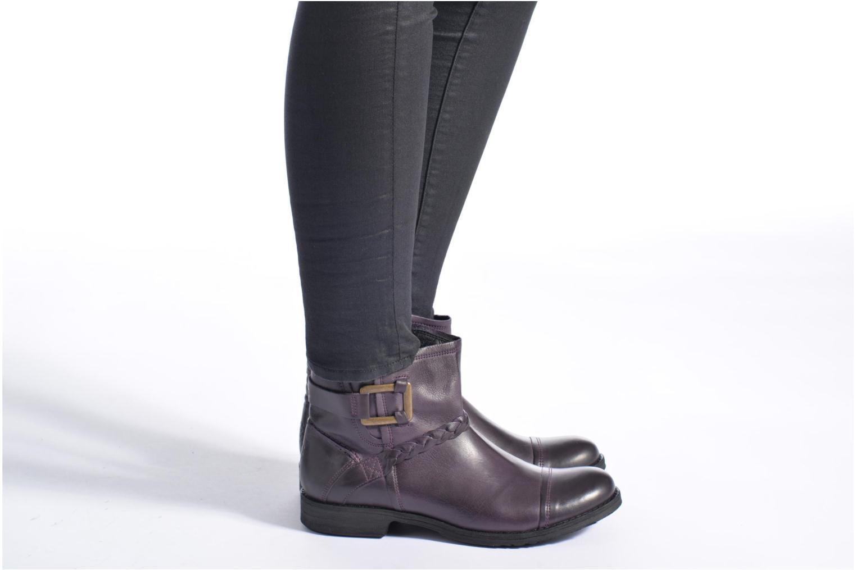 Bottines et boots TBS Melina Violet vue bas / vue portée sac