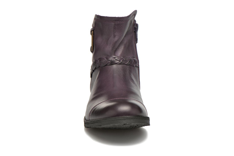 Stiefeletten & Boots TBS Melina lila schuhe getragen