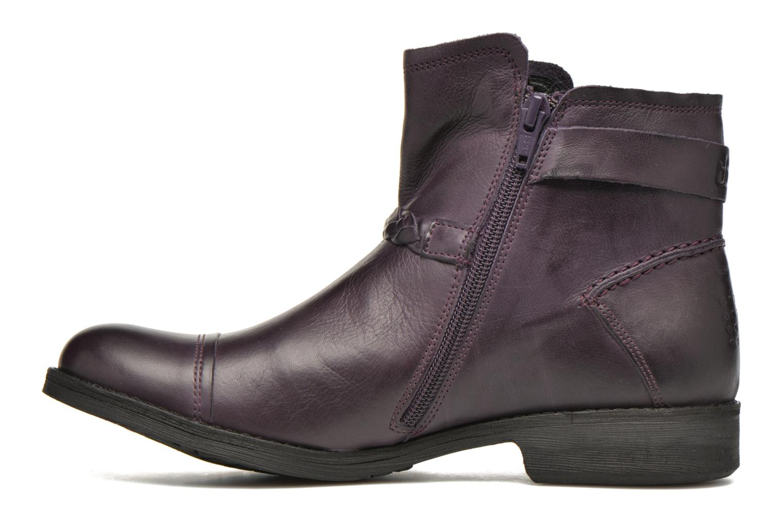 Bottines et boots TBS Melina Violet vue face