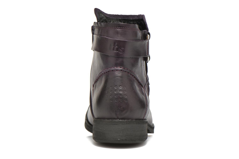Bottines et boots TBS Melina Violet vue droite