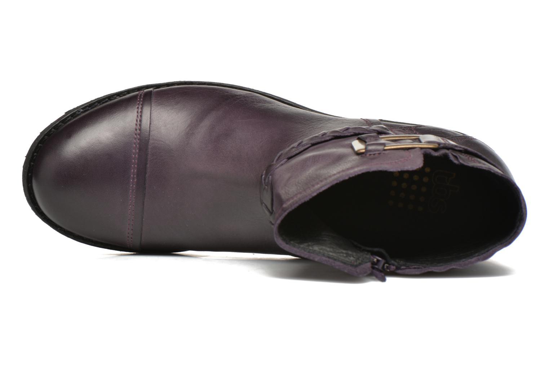 Bottines et boots TBS Melina Violet vue gauche