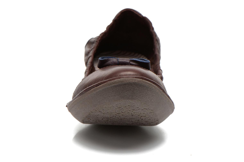 Ballerines TBS Sweety Bordeaux vue portées chaussures
