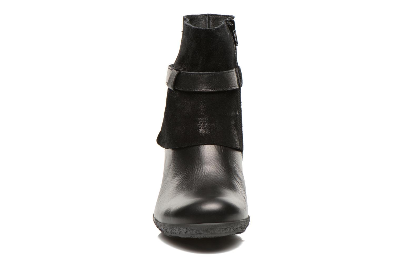 Bottines et boots TBS Wester Noir vue portées chaussures