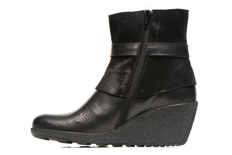 Bottines et boots TBS Wester Noir vue face