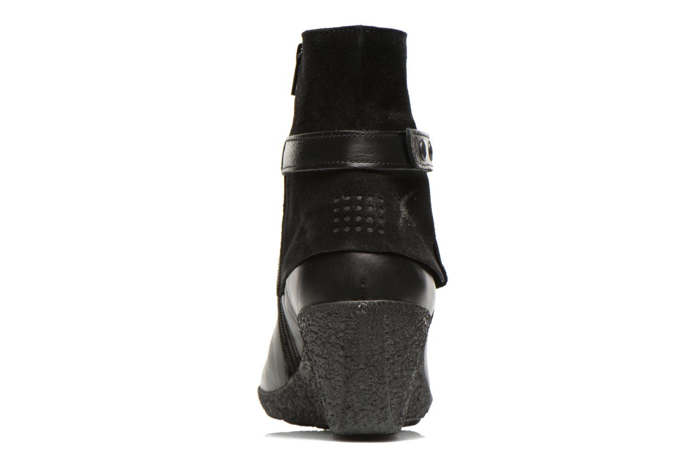 Bottines et boots TBS Wester Noir vue droite