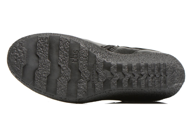 Bottines et boots TBS Wester Noir vue haut