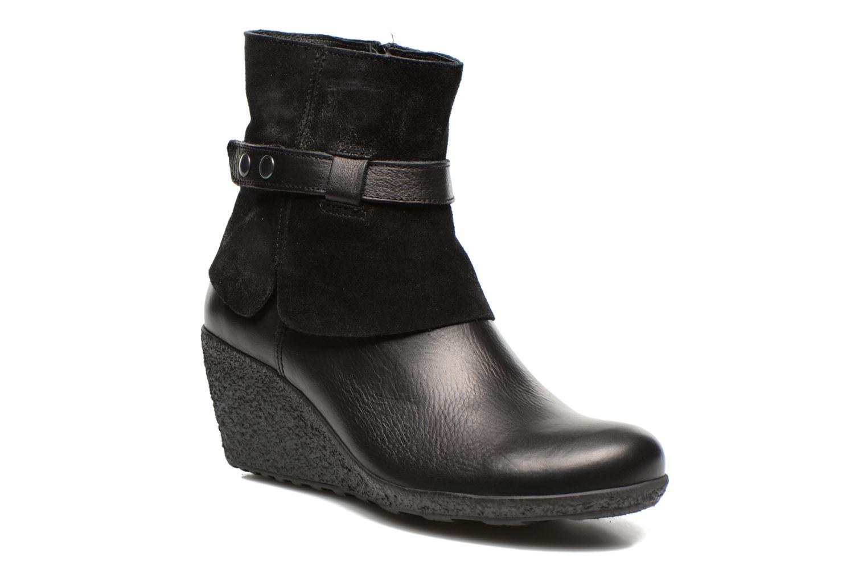 Bottines et boots TBS Wester Noir vue détail/paire