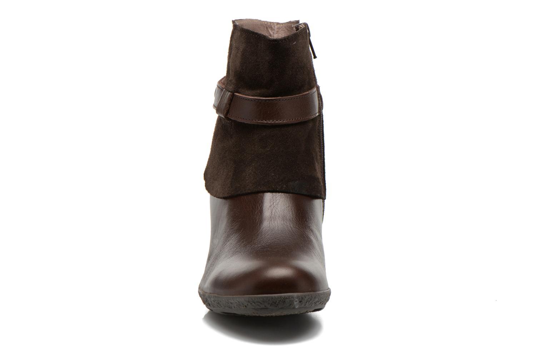 Bottines et boots TBS Wester Marron vue portées chaussures