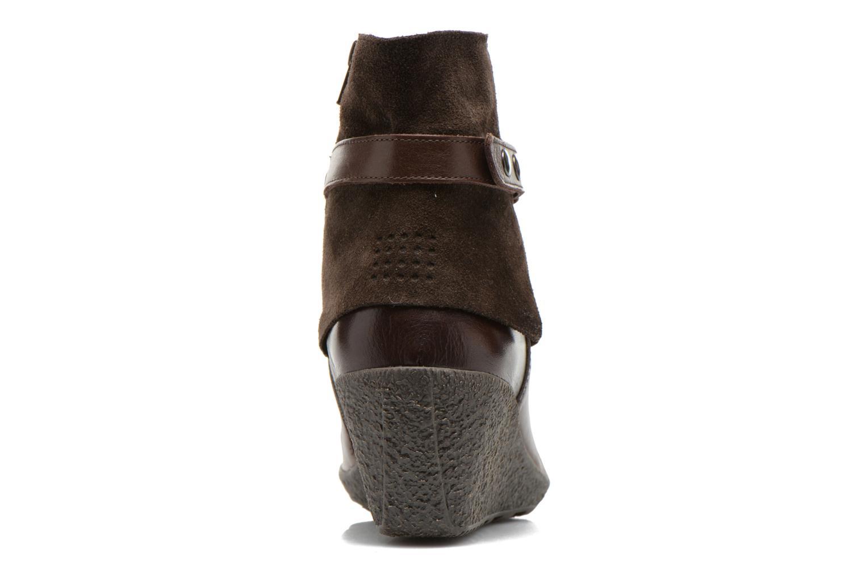 Bottines et boots TBS Wester Marron vue droite