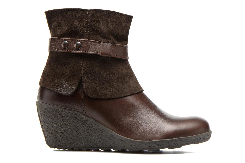 Boots en enkellaarsjes TBS Wester Bruin achterkant