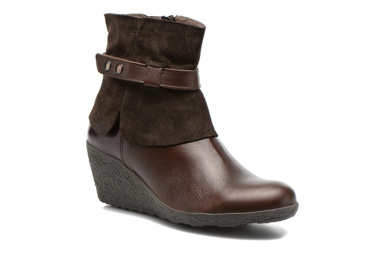 Boots en enkellaarsjes TBS Wester Bruin detail