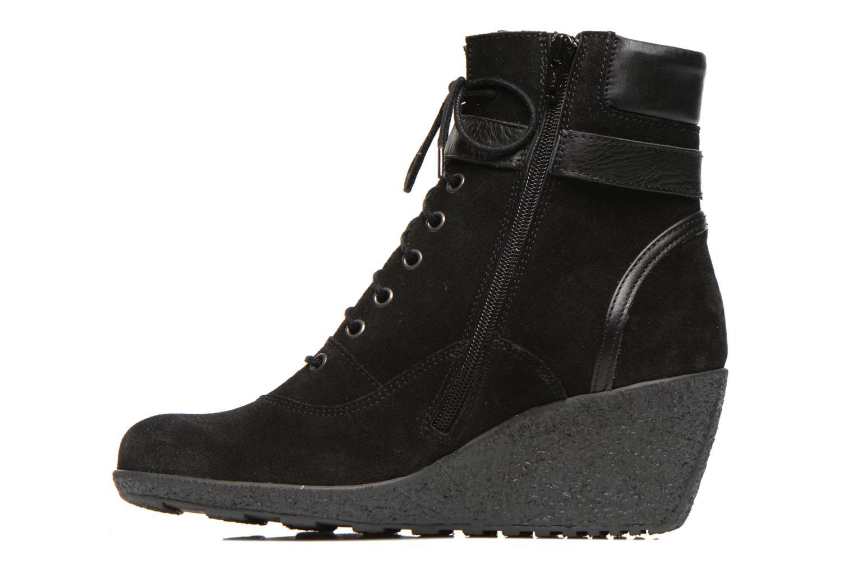 Boots en enkellaarsjes TBS Wynona Zwart voorkant