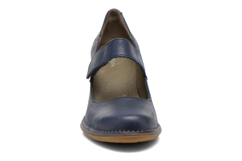 Escarpins El Naturalista Colibri N465 Bleu vue portées chaussures