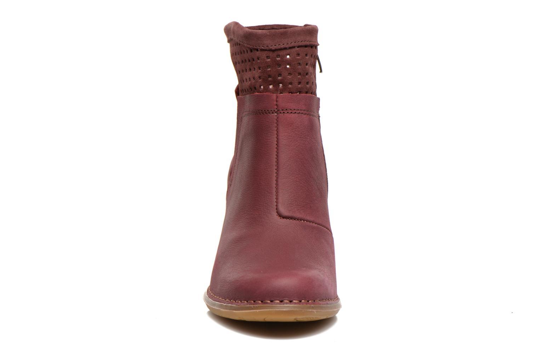 Bottines et boots El Naturalista Colibri N495 Bordeaux vue portées chaussures