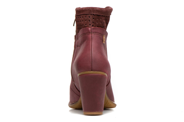 Bottines et boots El Naturalista Colibri N495 Bordeaux vue droite