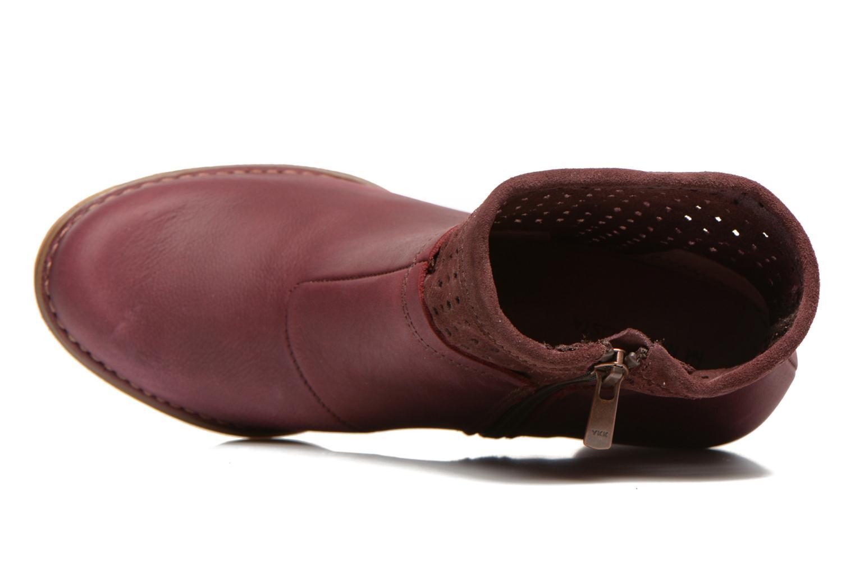Bottines et boots El Naturalista Colibri N495 Bordeaux vue gauche