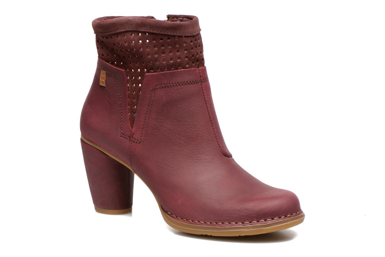 Bottines et boots El Naturalista Colibri N495 Bordeaux vue détail/paire