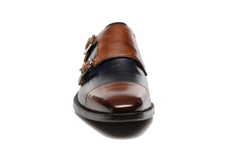 Mocassins Melvin & Hamilton Jeff 22 Bleu vue portées chaussures