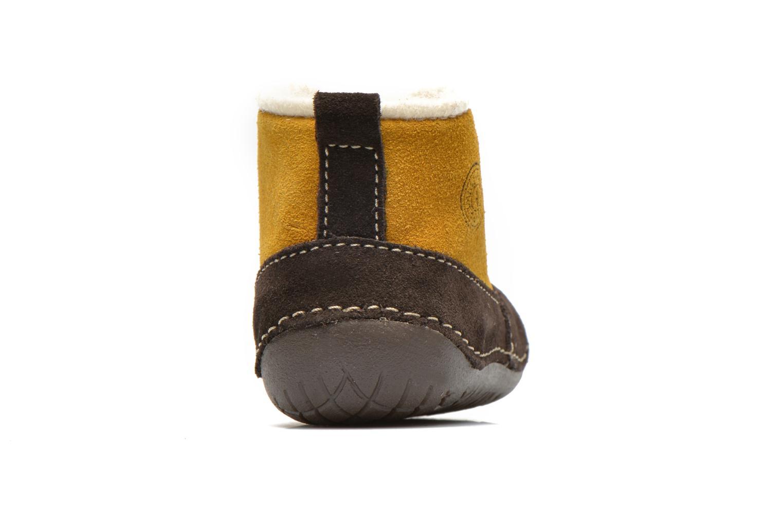 Bottines et boots Primigi Raffyx-E Jaune vue droite
