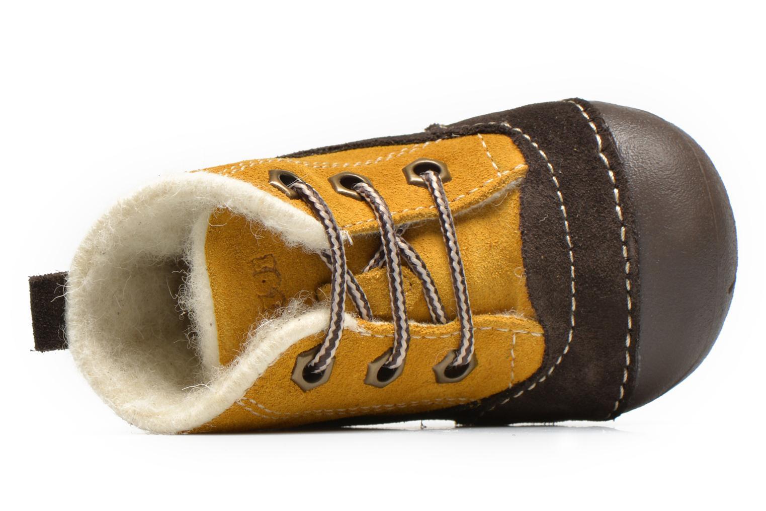 Bottines et boots Primigi Raffyx-E Jaune vue gauche