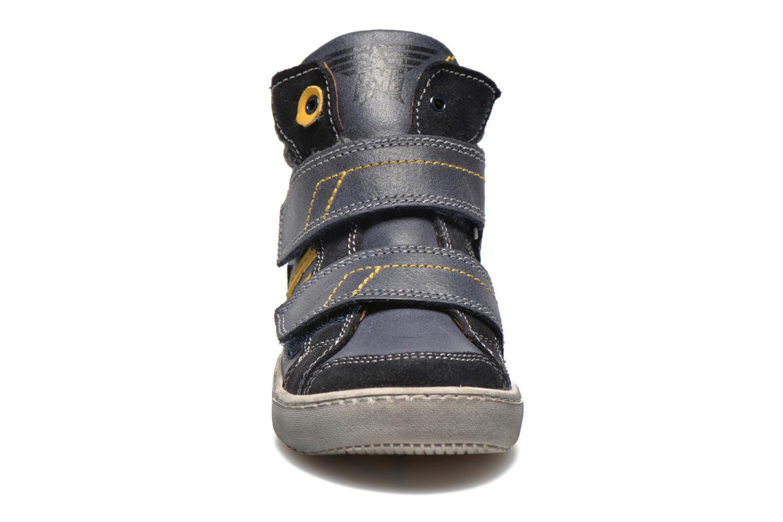 Chaussures à scratch Primigi Lionnel Bleu vue portées chaussures