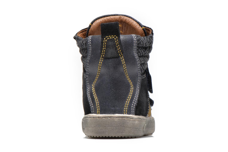 Chaussures à scratch Primigi Lionnel Bleu vue droite