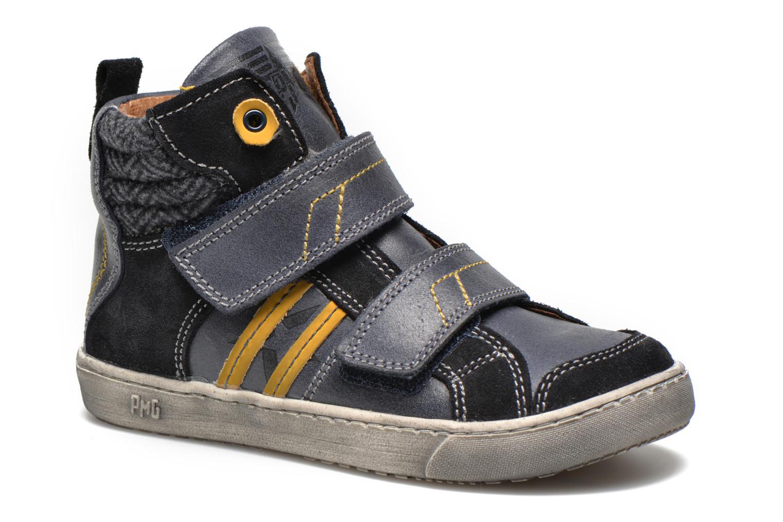 Chaussures à scratch Primigi Lionnel Bleu vue détail/paire