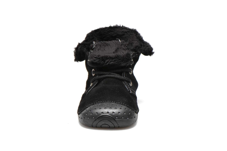 Bottines et boots Babybotte Zouk2 Noir vue portées chaussures