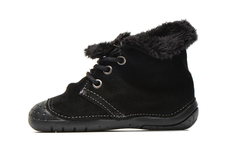Bottines et boots Babybotte Zouk2 Noir vue face
