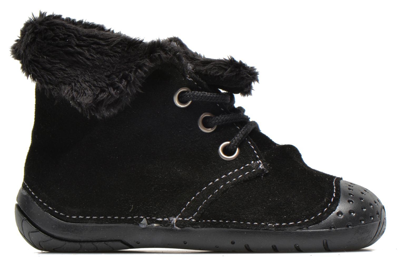 Bottines et boots Babybotte Zouk2 Noir vue derrière