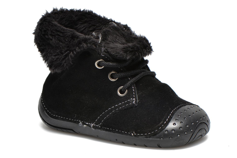 Bottines et boots Babybotte Zouk2 Noir vue détail/paire
