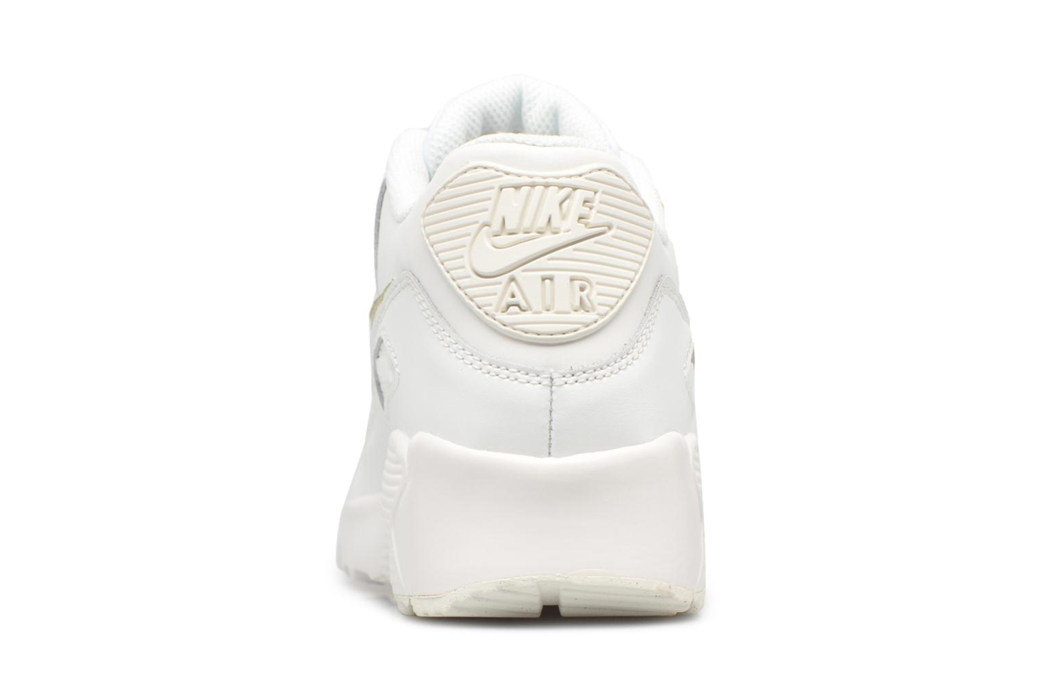 Trainers Nike Nike Air Max 90 Ltr (Gs) White view from the right