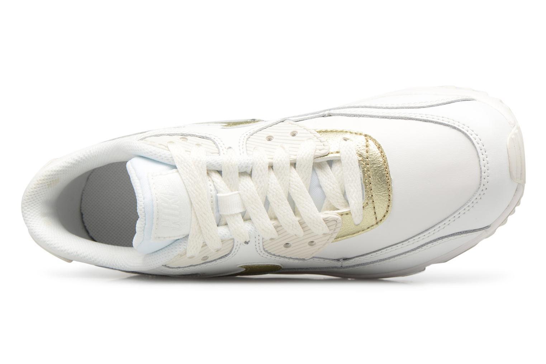 Nike Air Max 90 Ltr (Gs) Summit White/Mtlc Gold Star