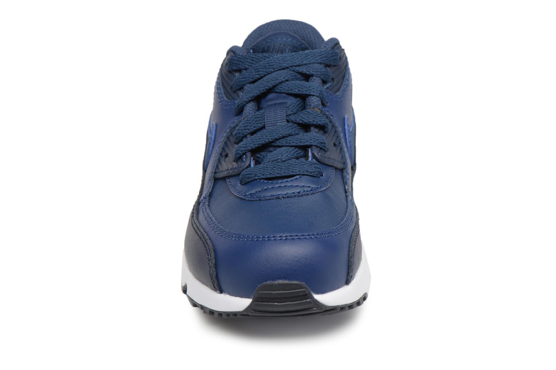 Baskets Nike Nike Air Max 90 Ltr (Ps) Bleu vue portées chaussures
