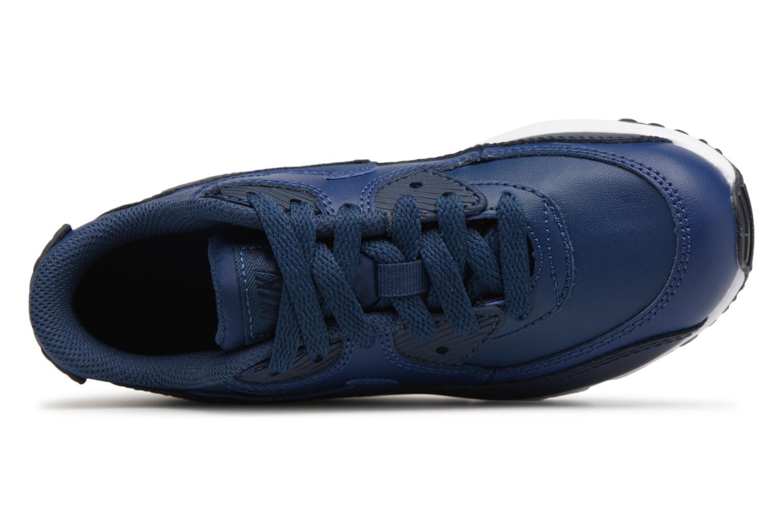 Baskets Nike Nike Air Max 90 Ltr (Ps) Bleu vue gauche