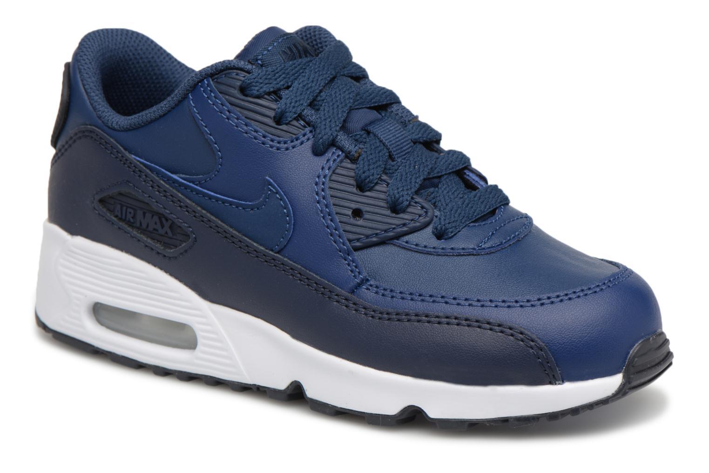 Baskets Nike Nike Air Max 90 Ltr (Ps) Bleu vue détail/paire