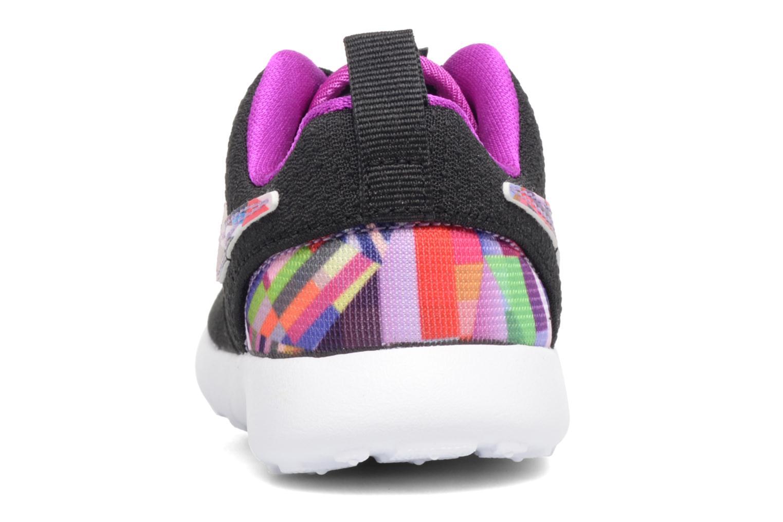 Baskets Nike Nike Roshe One Print (Tdv) Noir vue droite
