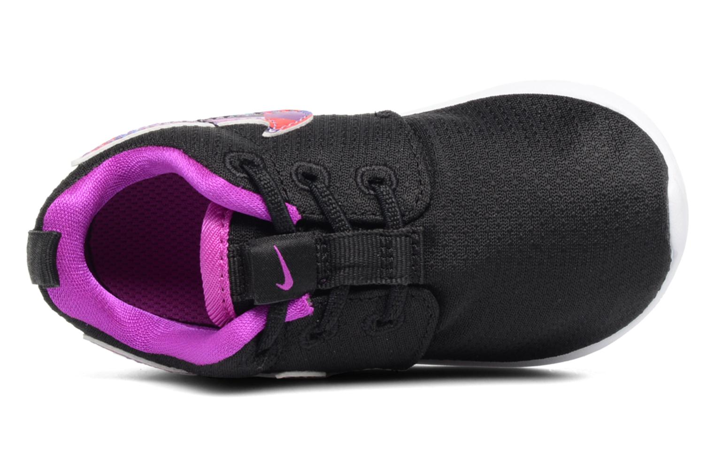 Baskets Nike Nike Roshe One Print (Tdv) Noir vue gauche