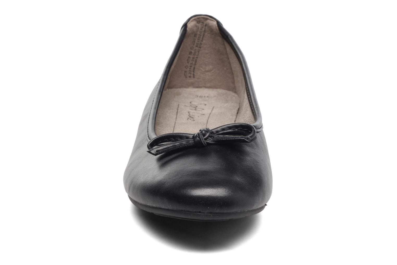 Bailarinas Jana shoes Aciego Negro vista del modelo