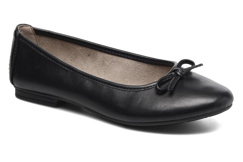 Bailarinas Jana shoes Aciego Negro vista de detalle / par