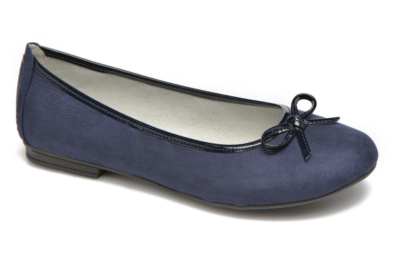 Ballerines Jana shoes Aciego Bleu vue détail/paire