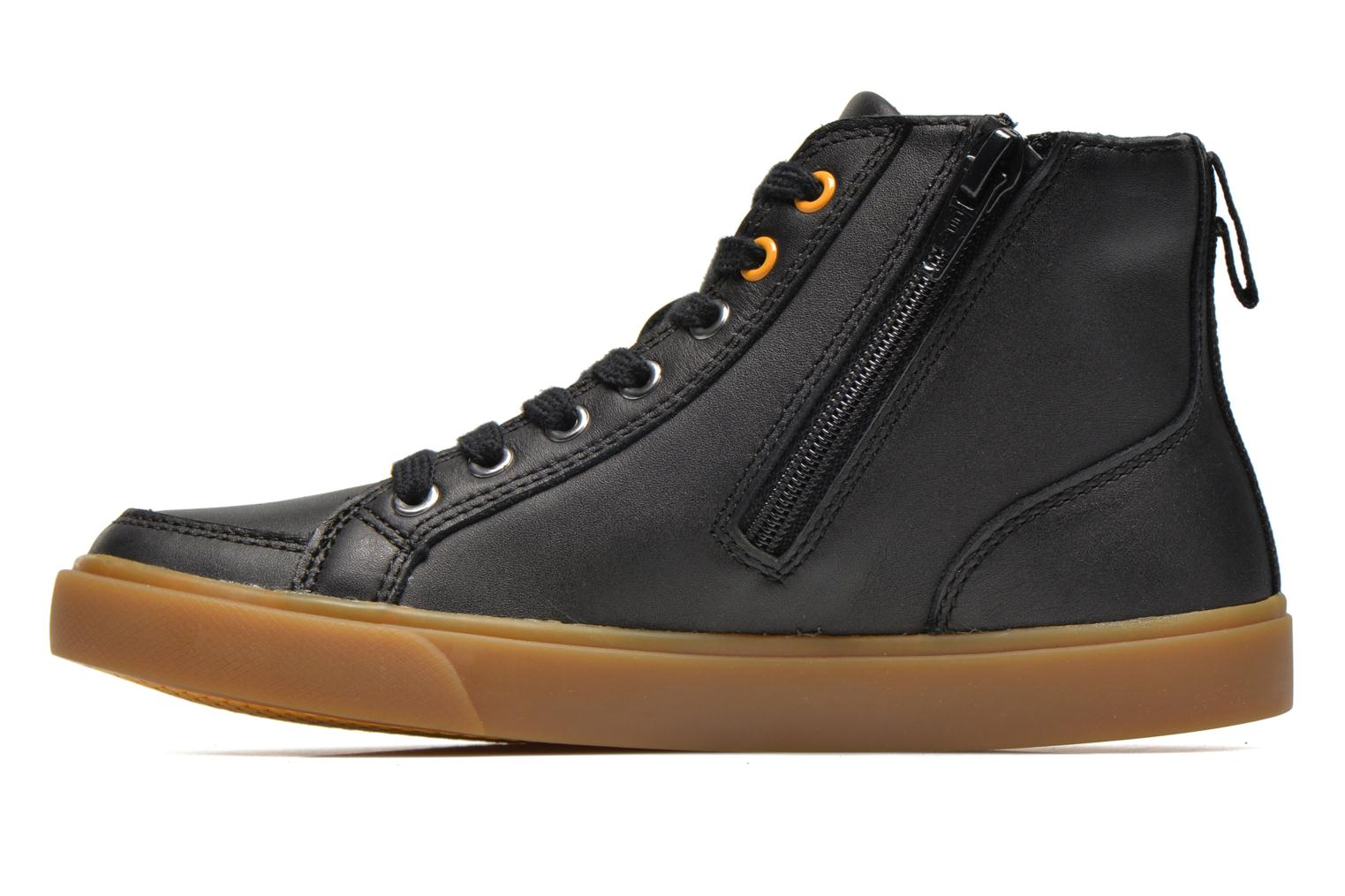 Baskets Clarks Club Jive Noir vue face