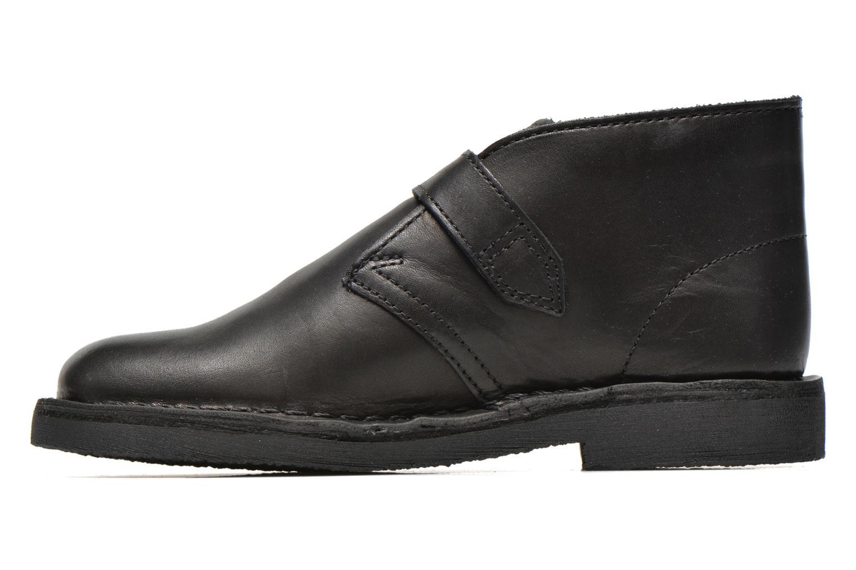 Desert Buck Black leather