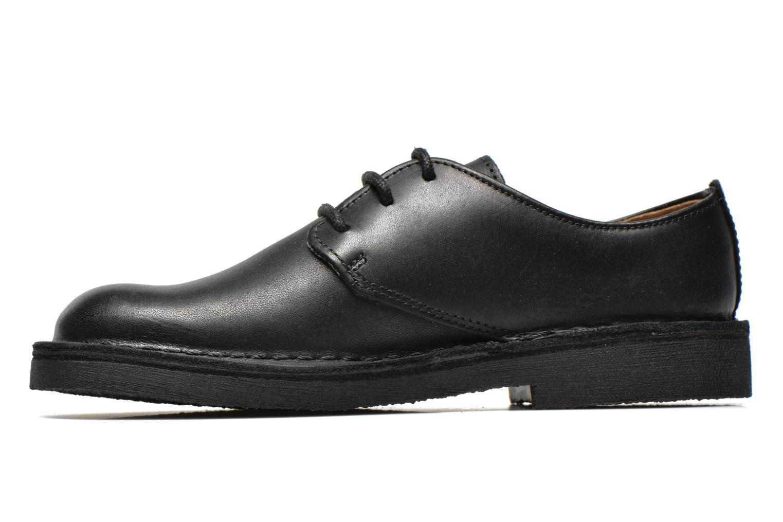 Chaussures à lacets Clarks Desert Lnd Noir vue face
