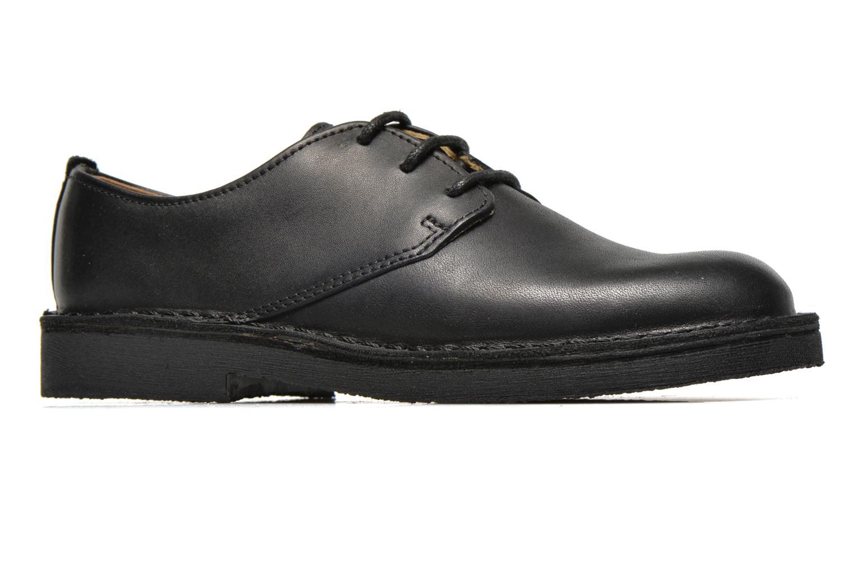 Chaussures à lacets Clarks Desert Lnd Noir vue derrière