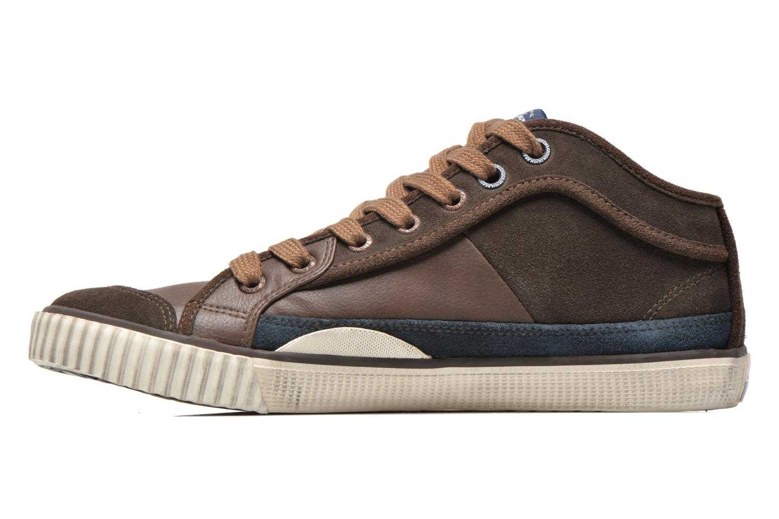 Baskets Pepe jeans Industry Half Marron vue face
