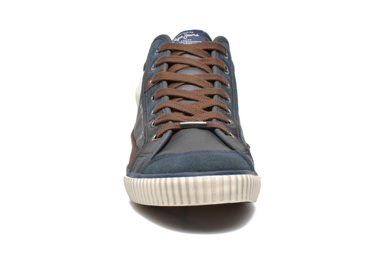 Baskets Pepe jeans Industry Half Bleu vue portées chaussures